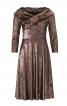 Сукня відрізна з перехрещеним коміром - фото 2