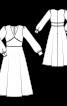 Сукня відрізна в стилі 70-х - фото 3