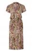 Сукня трикотажна зі зборками на спідниці - фото 2