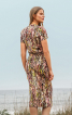 Сукня трикотажна зі зборками на спідниці - фото 4