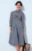 Сукня сорочкового крою із застібкою поло - фото 1