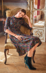 Сукня з вузьким ліфом і розкльошеною спідницею - фото 1