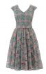 Сукня відрізна із спідницею-сонце - фото 2