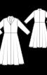 Сукня відрізна із в'язаного полотна - фото 3