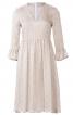 Сукня відрізна з V-подібним вирізом - фото 2
