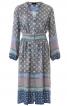 Сукня приталеного крою з пишними рукавами - фото 2