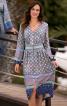 Сукня приталеного крою з пишними рукавами - фото 1