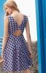 Сукня відрізна з вирізами на спинці - фото 4