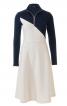Сукня в спортивному стилі з високим коміром - фото 2