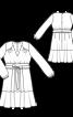 Сукня відрізна із пишною спідницею - фото 3