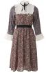 Сукня відрізна з кокетками і оборками - фото 2