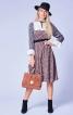Сукня відрізна з кокетками і оборками - фото 1