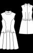 Платье из Burda Moden 10/1968 - фото 3
