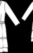 Сукня лляна з оборками - фото 3