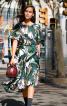 Сукня відрізна з рукавами-крильцями - фото 1