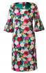 Сукня відрізна з вирізами на спинці - фото 2