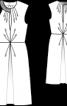 Сукня з асиметричним верхом - фото 3