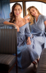 Сукня асиметричного крою з шалевим коміром - фото 4