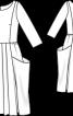 Сукня лляна в дусі ретро - фото 3