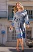 Сукня відрізна з поясом обі - фото 1