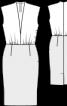 Сукня відрізна з трикотажною верхньою частиною - фото 3