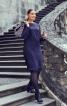 Сукня відрізна з розкльошеною спідницею - фото 1