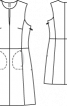 Сукня замшева без рукавів - фото 3