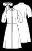 Сукня-сорочка з пишними рукавами - фото 3