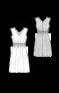 Платье отрезное с пышной юбкой - фото 3
