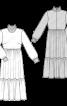 Сукня міді в стилі бохо - фото 3