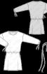 Сукня трикотажна в спортивному стилі - фото 3