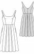 Сукня на бретелях з пишною спідницею - фото 3