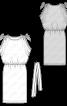 Сукня з кулісками в плечових швах - фото 3