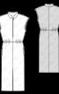 Сукня з коміром-стойкою і вузькою спідницею - фото 3