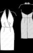Сукня-футляр з відкритою спиною - фото 3