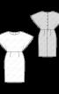 Сукня із застібкою на спинці - фото 3