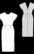Сукня відрізна з глибоким вирізом на спинці - фото 3