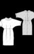 Сукня відрізна із застібкою на спинці - фото 3