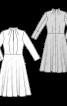 Сукня відрізна із суцільнокроєним коміром-стойкою - фото 3