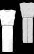 Сукня довга трикотажна - фото 3