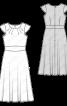 Сукня з фігурним вшивним поясом - фото 3