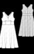 Сукня з широким вшивним поясом - фото 3