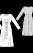 Сукня трикотажна силуету ампір - фото 3