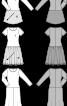 Сукня з пишною спідницею комбінована - фото 3