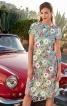 Сукня приталена з асиметричною деталлю на ліфі - фото 1
