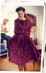 Сукня із суцільнокроєними рукавами - фото 1