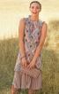 Сукня розкльошеного крою з оборками - фото 1