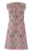 Сукня розкльошеного крою з оборками - фото 2