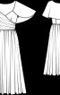 Сукня з пелериною - фото 3