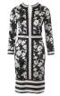 Сукня зі смужками на вшитому поясі і планках переду - фото 2
